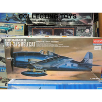 Avião Grumman F6f - 3/5 Hellcat - Academy - Esc: 1:72