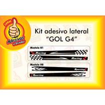 Adesivo Para Lateral Do Gol G4 - Kit