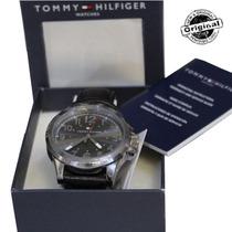 Relógio Masculino Tommy Hilfiger Pulseira Couro Original