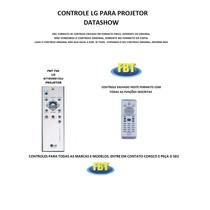 Controle Lg 6719v00133j Para Projetor