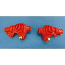Sanfona Capa Manete Vermelha (par) Xl250 Xl250r Xlx250r