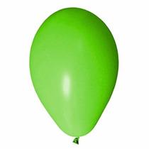 Balão Art-latex N7 Bexiga Para Festa Verde Lima 100u