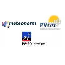 Pvsyst 6.7.0pro30+ Pvsol Premium 7.5 R4 + Meteonorm 7.1