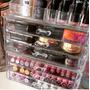 Porta Maquiagem Batom Pincel Organizador Acrílico 6 Gavetas