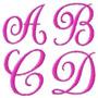 Alfabeto Monograma - Coleção Bordados