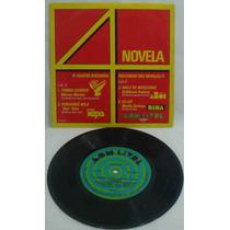 4 Sucessos Nacionais Compacto Vinil Novela 1977 Don Beto Mor
