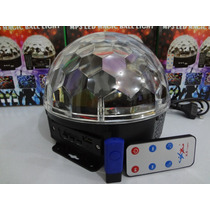Bola Maluca-bola Magica Led Rgb Mp3+pendrive+controle Remoto