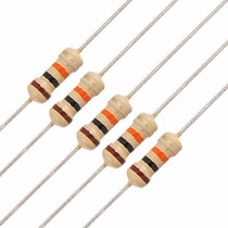 Kit Com 49 Peças Resistor 1w-4r7