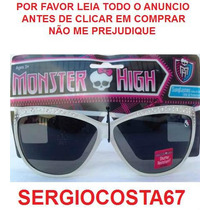 Oculos De Sol Infantil Monster High C52