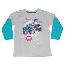 Camiseta Mescla Manga Longa Jipe - Have Fun
