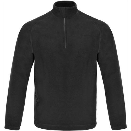 Blusa Zip Thermo Fleece Masculina Vtb001 - Curtlo - Preta -