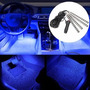Lâmpada Led Azul Tuning Interior Veicular 12v Universal