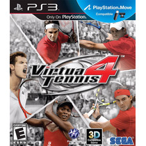 Jogo Ps3 Virtua Tennis 4 Original E Lacrado