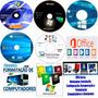 Kit Técnico De Informatica 7 8.1 10  office2016 cd Drive