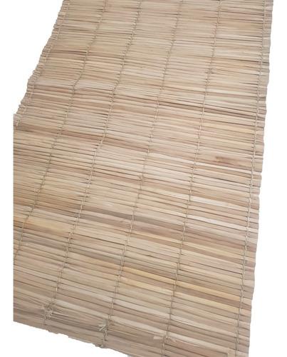 Esteira Palha 2x1m Tapete Pergolado Decoração