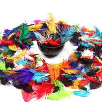 Pluma De Avestruz Confete - Decoração/fantasia