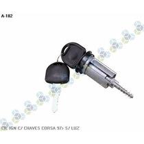 Cilindro De Ignição Com Chaves Gm Corsa 97/... - Marzu