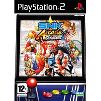 Comprar Jogos Patch Snk Arcade Classics P/ Playstation 2 Ps2