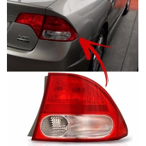 Lanterna Honda New Civic 2007 2008 2009 2010 2011 Direito