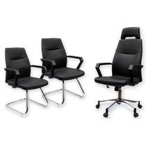 Conjunto De Cadeiras De Escritório Manager