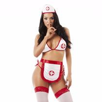Fantasia Enfermeira Tamanho Único