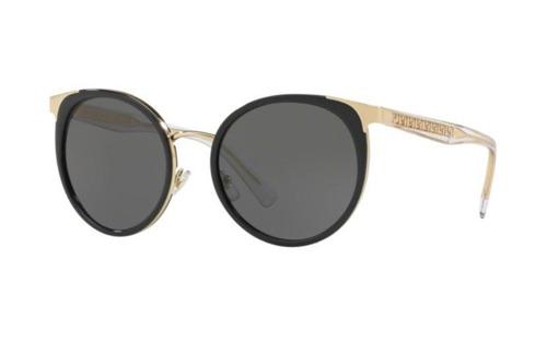 41436667f Oculos Sol Versace Ve2185 125287 54 Preto Dourado Brilho