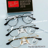 8889bc86f571c Oculos De Grau Ray Ban Rb3447v Round Redondo 50mm Unissex