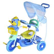 Triciclo Para Crianças Meninos Com Assento, Musica & Luzes