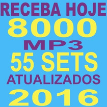 8000 Músicas Dj Festas Bares Boates + 55 Sets Mix 2016 65gb