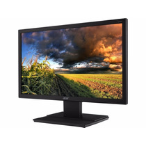 Monitor Led Acer 19,5 V206hql - Vga - Vesa - Inclinacao