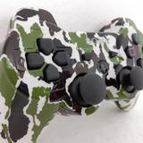 Controle Ps3 Verde Exército Manete Original Jsx Playstation3