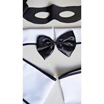Kit Mascara Go-go Boy Enfeite De Cabeça Fantasia
