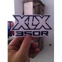 Adesivo Decalque Honda Xlx-350 Xlx350