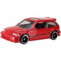 1990 Honda Civic Ef Vermelho Hot Wheels 2014