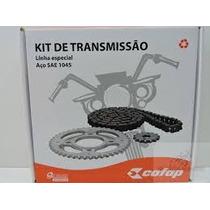 Kit Relação Cofap Corrente Coroa Pinhão Cg 125 Titan 94 À 99