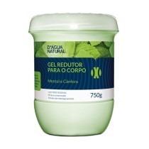 Dagua Natural Gel Redutor Canfora E Cafeína 750g