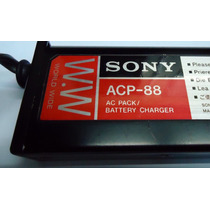 Sony Acp-88 Power Adaptor E Carregador De Baterias