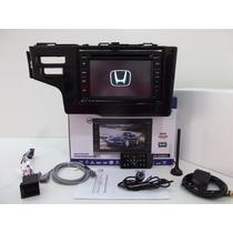 Central Multimídia Original Honda Fit 2015