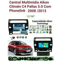 Central Multimidia Citroen C4 - Pallas / Aikon 2008/2013