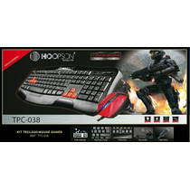 Kit Teclado E Mouse Gamer - Multimidia (hoopson)