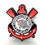 Pen Drive Time Corinthians Emborrachado 4gb Portatil Usb 2.0