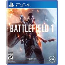 Battlefield 1 (pré-venda) - Ps4 Midia Fisica Nacional
