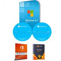 Cd Formatação Windows 8.1 Pro 32/64 + Office