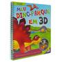 Livro - Leia Monte E Brinque Meu Dino Parque Em 3d