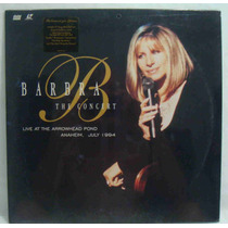 Barbra Streisand Laserdisc The Concert 1991 Lacrado