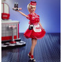 Barbie Coca Cola 1998 - 1999 - Car Hop Waitress - Mattel