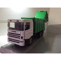 Miniatura Scania 124 P400 Caminhão De Lixo 1/32