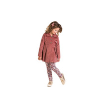 Conjunto Infantil Inverno Veludo Cotele Com Calça Cotton