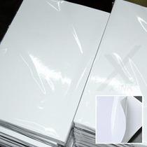 Papel Fotográfico Adesivo 135g A4 À Prova D´água 100 Folhas