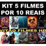 Kit 5 Filmes Por 10 Reais - Blu-ray - Filmes Mídia Digital